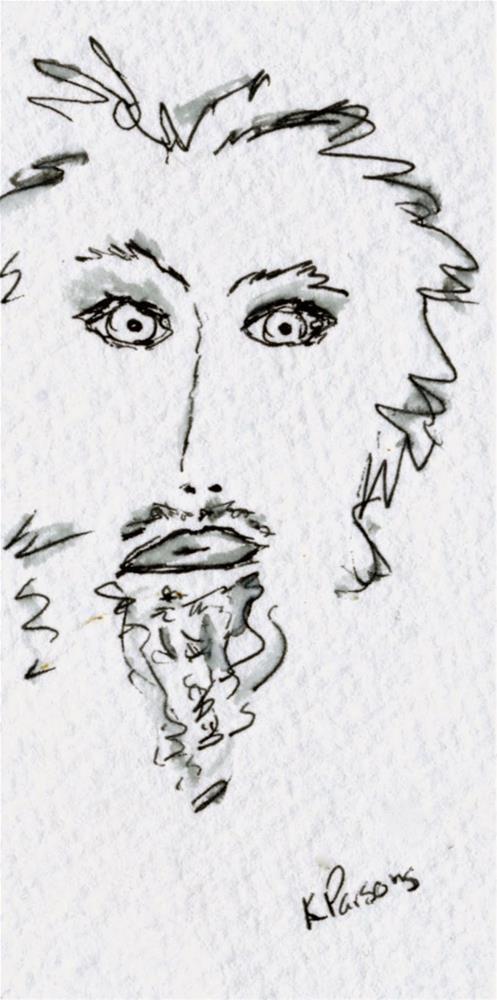 """No Shave November 3 - American Cancer Society Fundraiser"" original fine art by Kali Parsons"