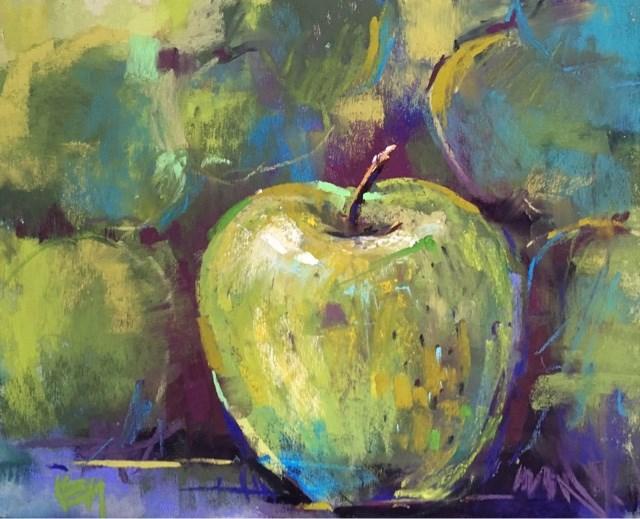"""""""My First Quick Paint Event!"""" original fine art by Karen Margulis"""