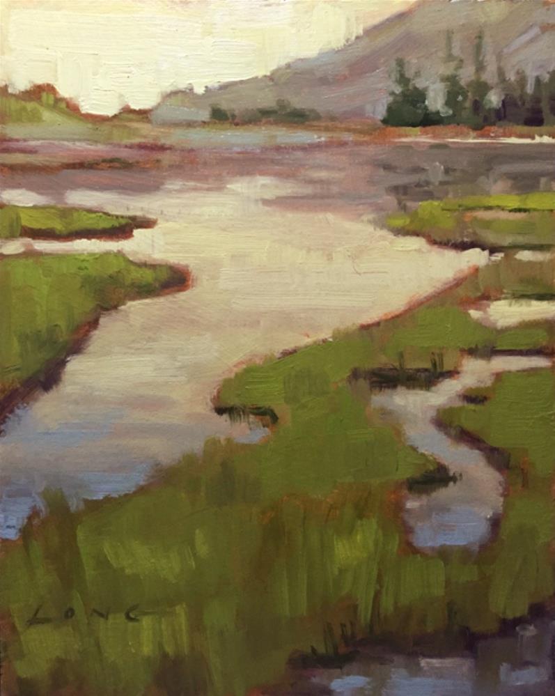 """Oregon Plein Air"" original fine art by Chris Long"