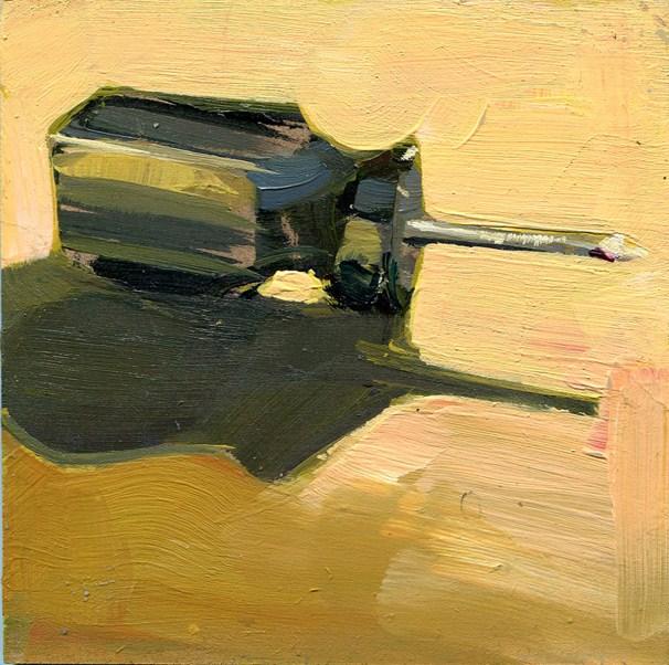 """mini-driver"" original fine art by Lisa Daria"
