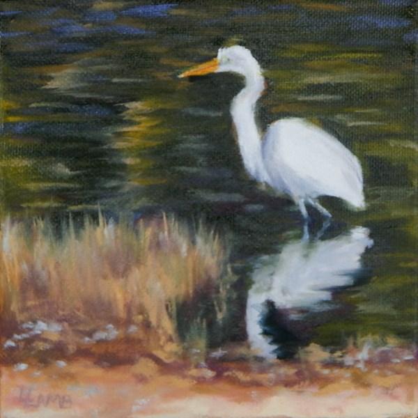 """Reflection"" original fine art by Lori L. Lamb"