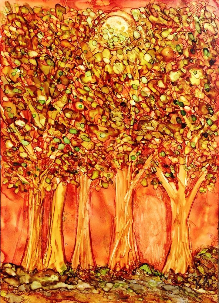 """Scorcher"" original fine art by Kris Alge"