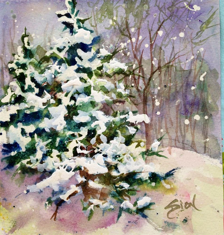 """Sheltered"" original fine art by Sue Dion"