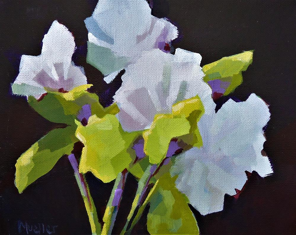 """In Pursuit of Spring"" original fine art by Laurie Mueller"