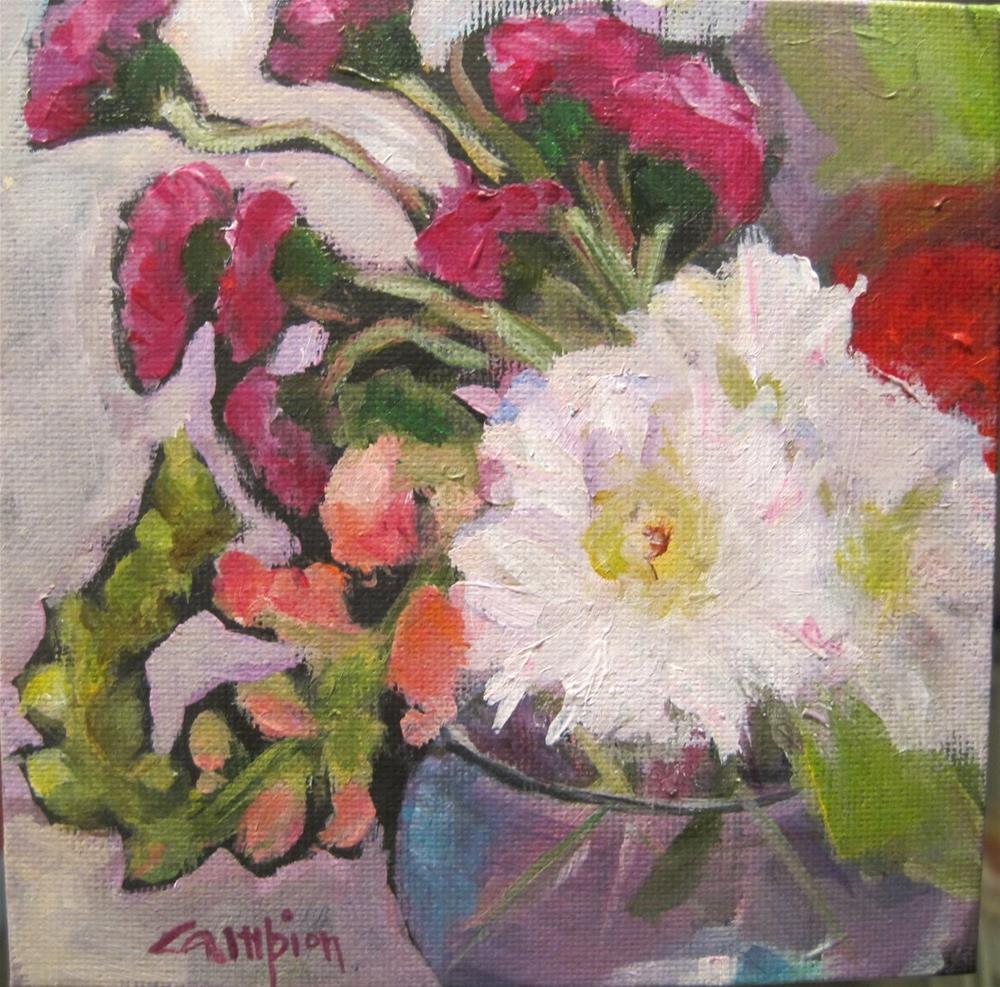 """""""302. Flip"""" original fine art by Diane Campion"""