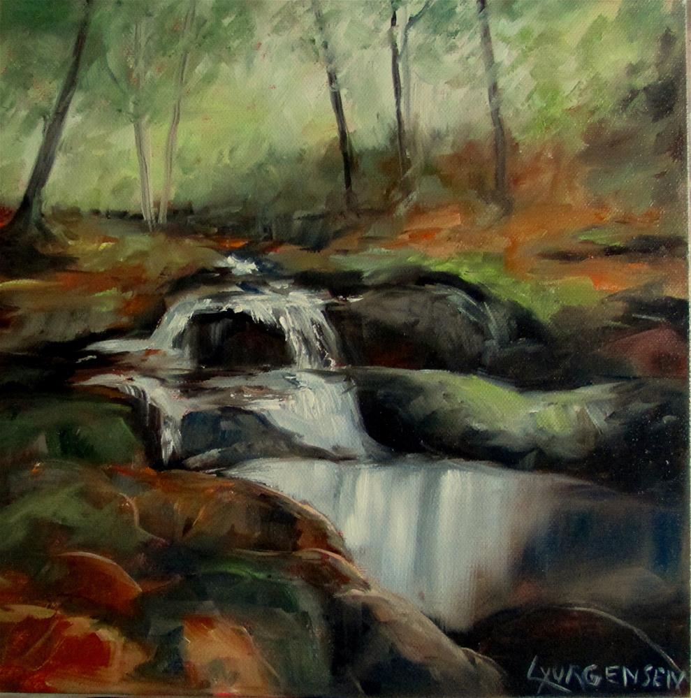 """12 x 12 inch oil"" original fine art by Linda Yurgensen"
