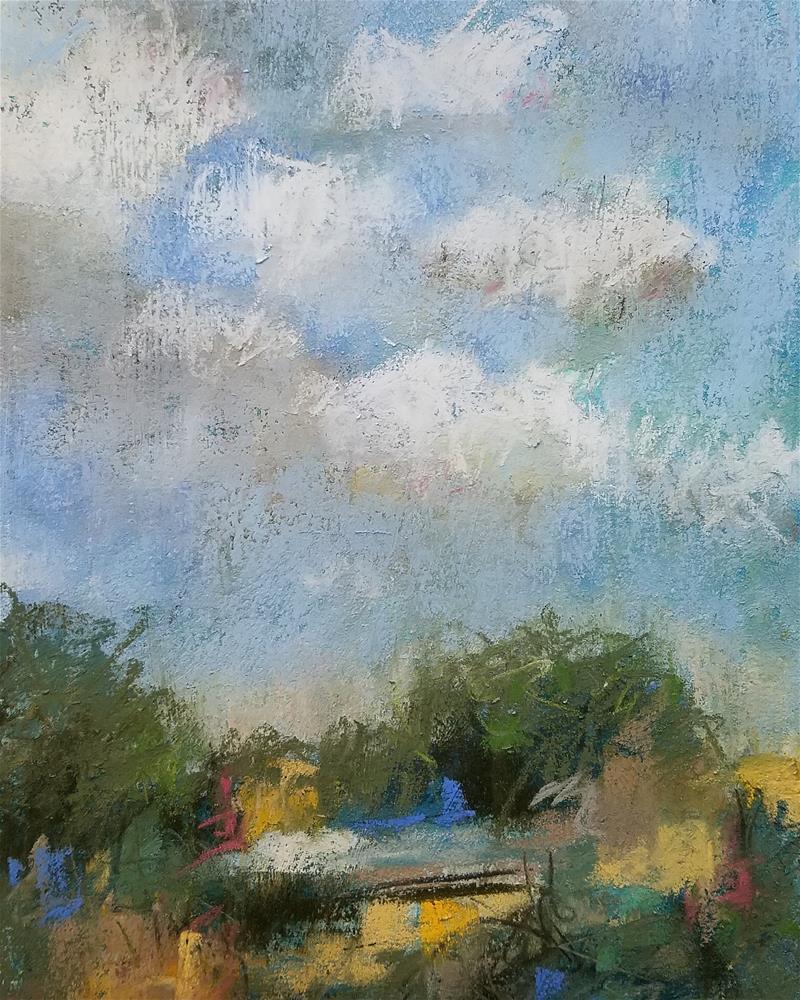 """Walnut Creek"" original fine art by Cindy Haase"