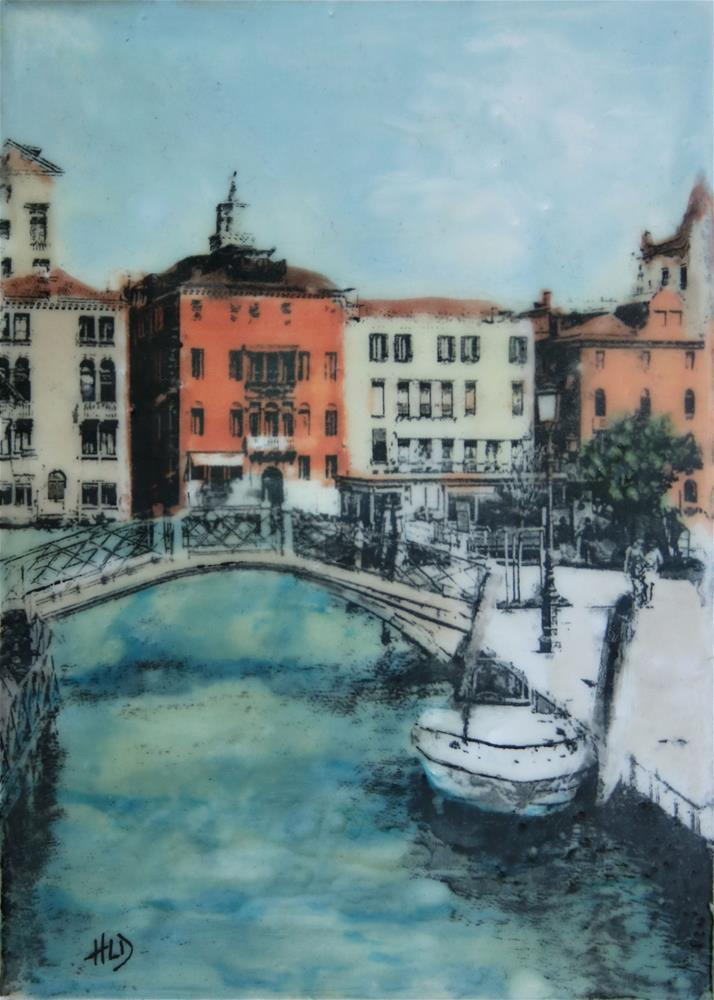 """Giudecca"" original fine art by Heather Douglas"