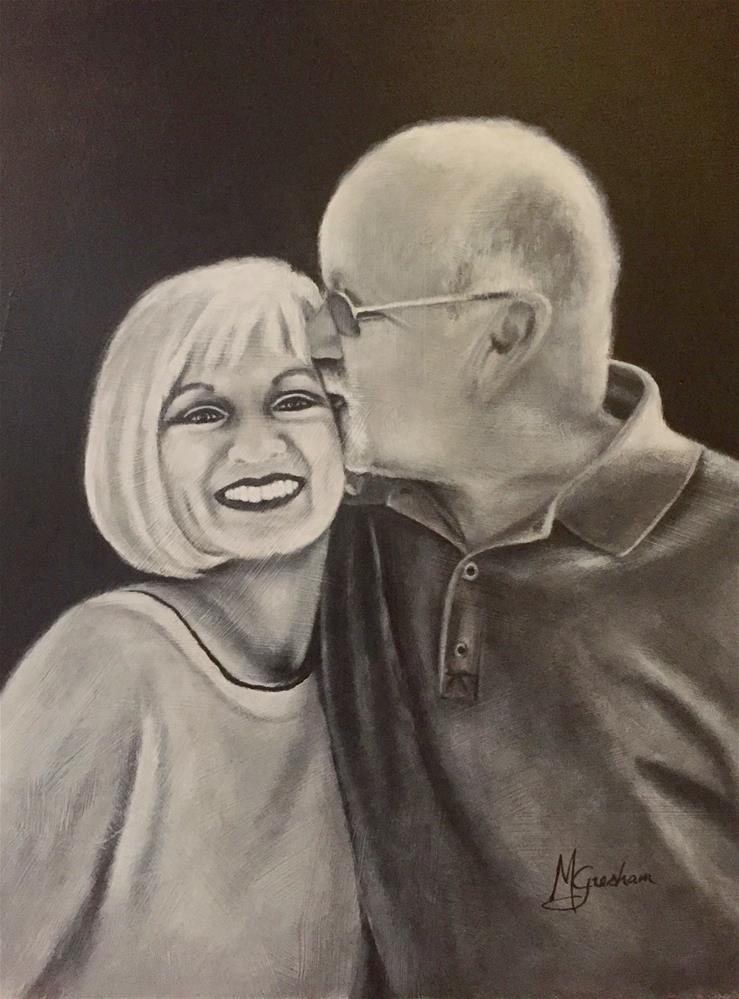 """Kathy & Brad"" original fine art by Melissa Gresham"