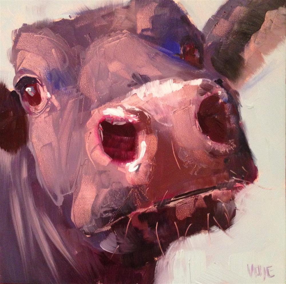"""#64 Driving through Glencoe"" original fine art by Patty Voje"