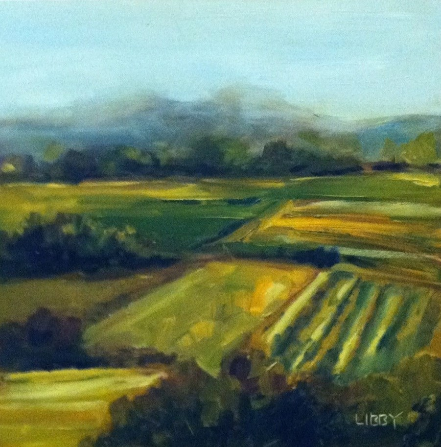"""""""Countryside"""" original fine art by Libby Anderson"""
