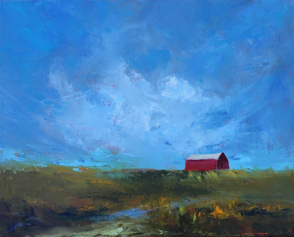 """""""Montana, Contemporary Landscape Paintings by Amy Whitehouse"""" original fine art by Amy Whitehouse"""