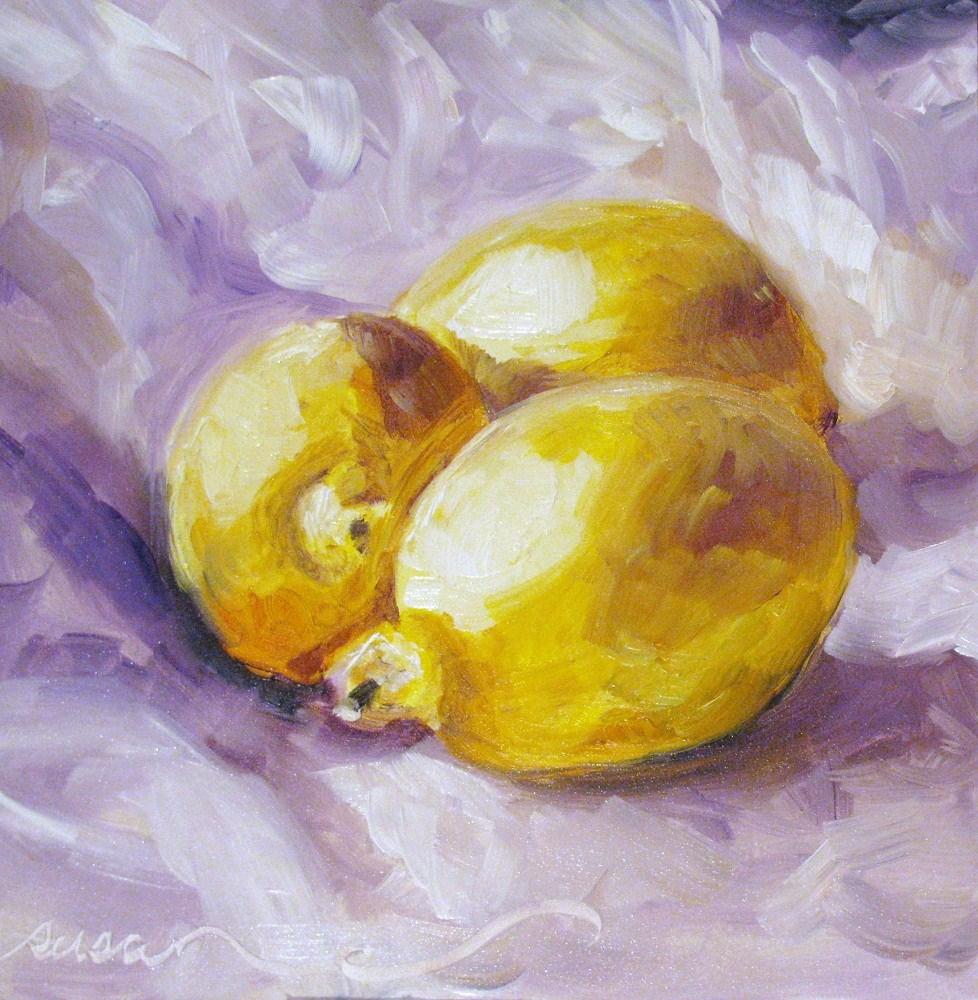 """Giles Co. Lemons"" original fine art by Susan Elizabeth Jones"