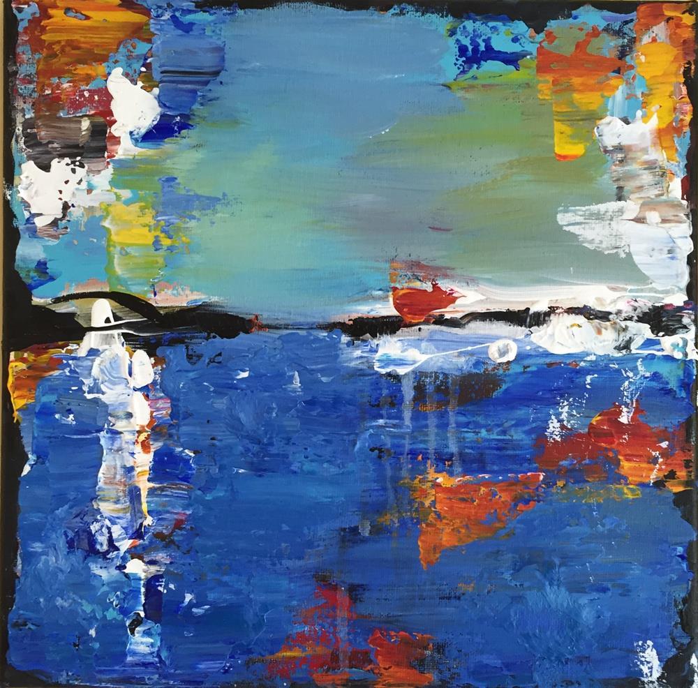 """""""Abstract Experiment 3"""" original fine art by Bonnie Masdeu"""
