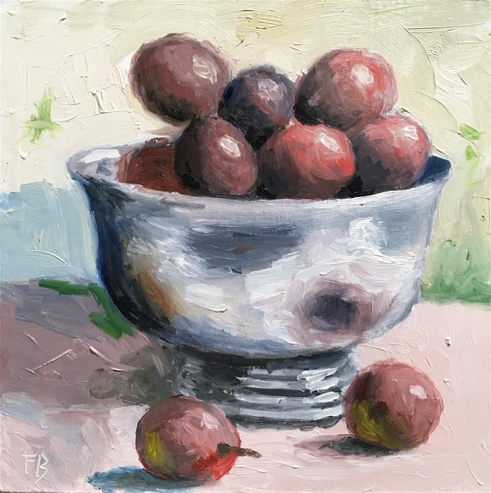 """""""221 Chalice Of Grapes"""" original fine art by Fred Bell"""
