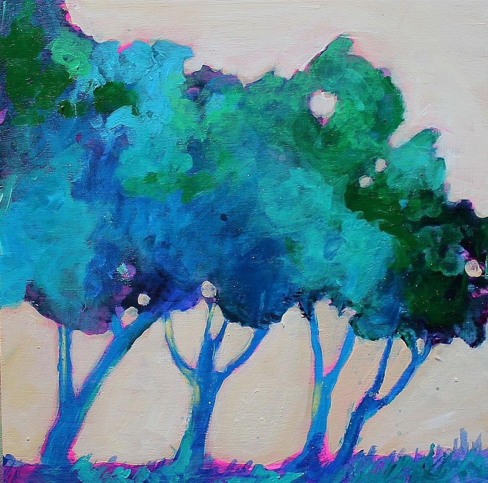 """""""Tree Study"""" original fine art by Kerri Blackman"""