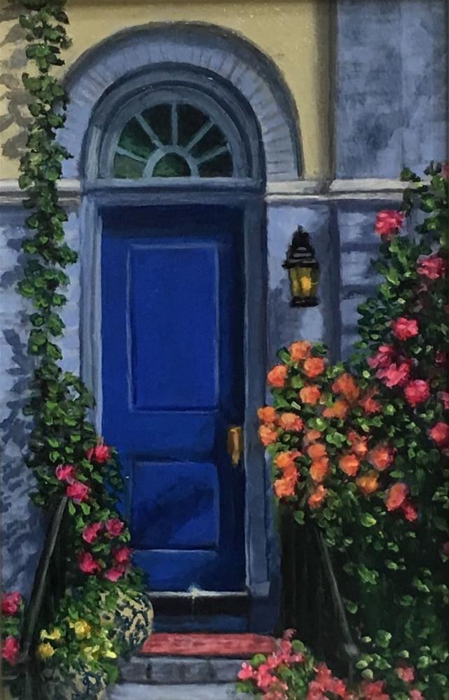 """""""Swann Street WDC"""" original fine art by Elizabeth Elgin"""