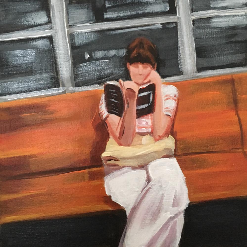"""""""A Good Part"""" original fine art by Bev Thibault"""