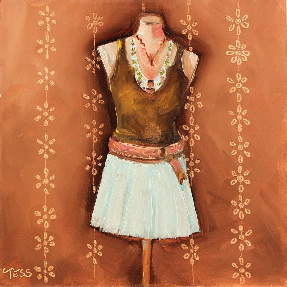 """Who's That Girl?-Eurythmics"" original fine art by Tess Lehman"