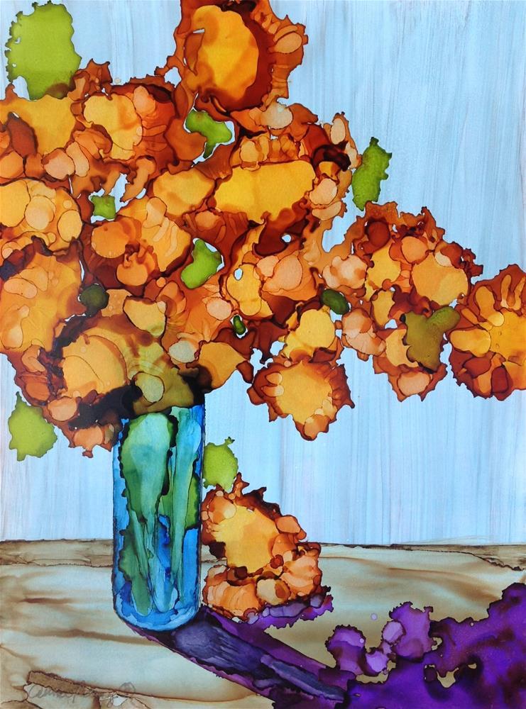 """Sunflowers"" original fine art by Anna Penny"
