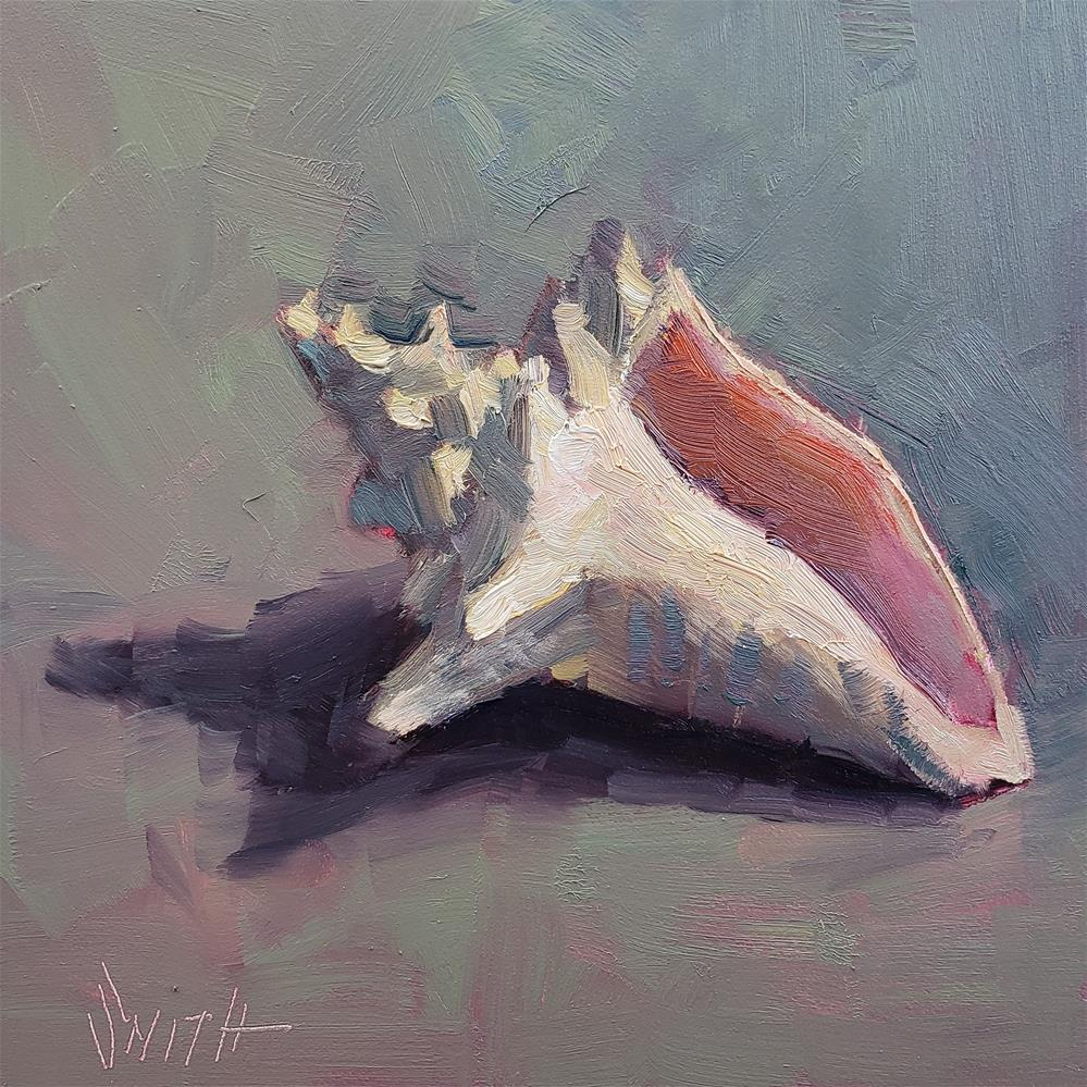 """""""Ocean Treasure"""" original fine art by Barbie Smith"""