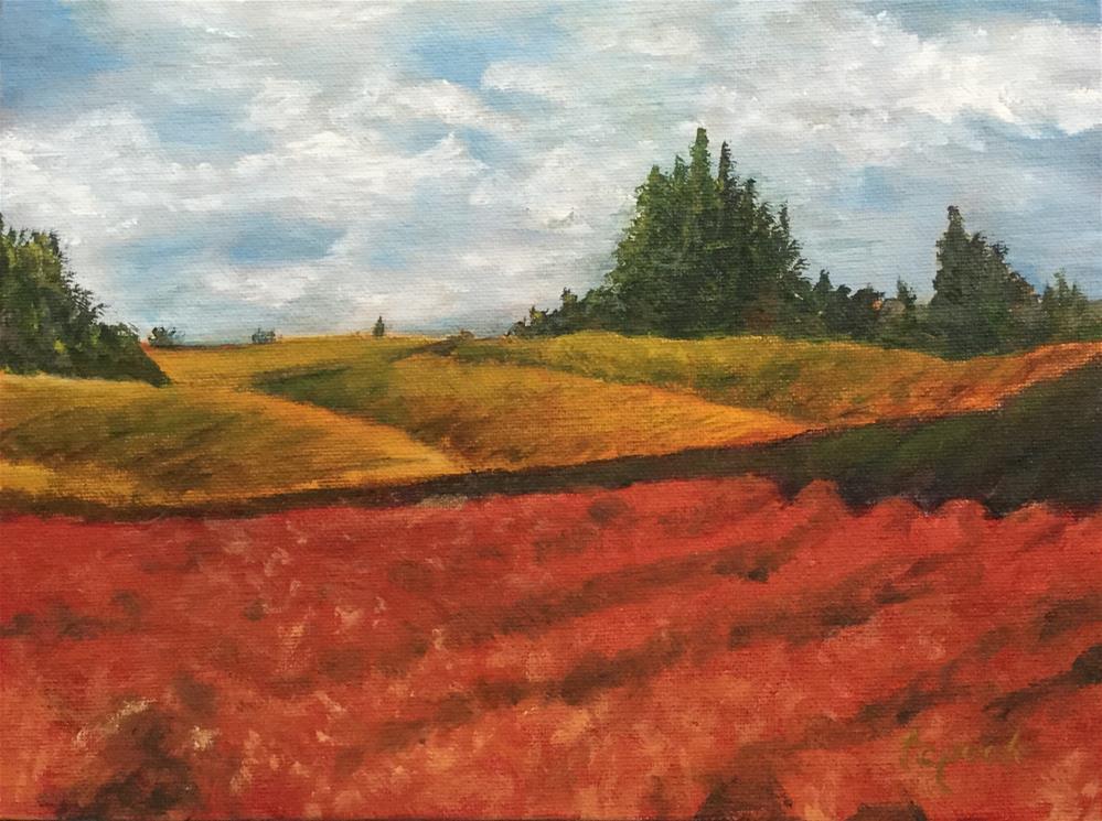 """Firdale Winery"" original fine art by T.C. Poole"