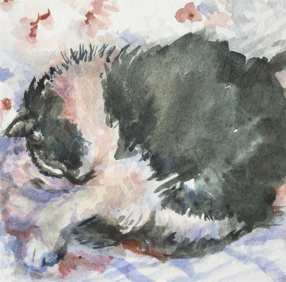 """Veils of Sleep"" original fine art by Jean Krueger"