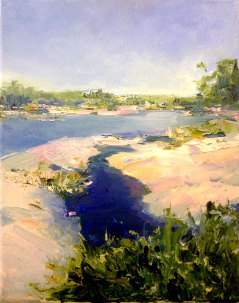 """Georgian Bay Memories"" original fine art by Cathy Boyd"