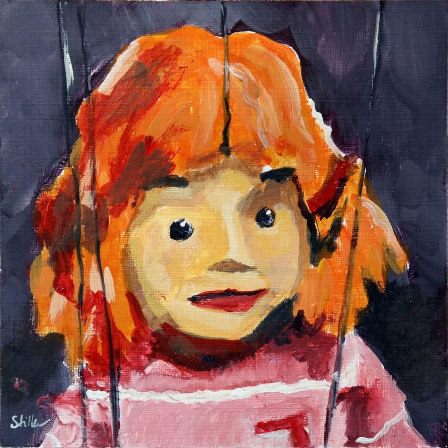 """1984 Jenny"" original fine art by Dietmar Stiller"