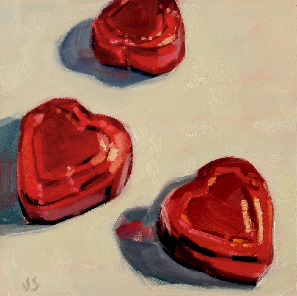 """Heart Candy"" original fine art by Jamie Stevens"