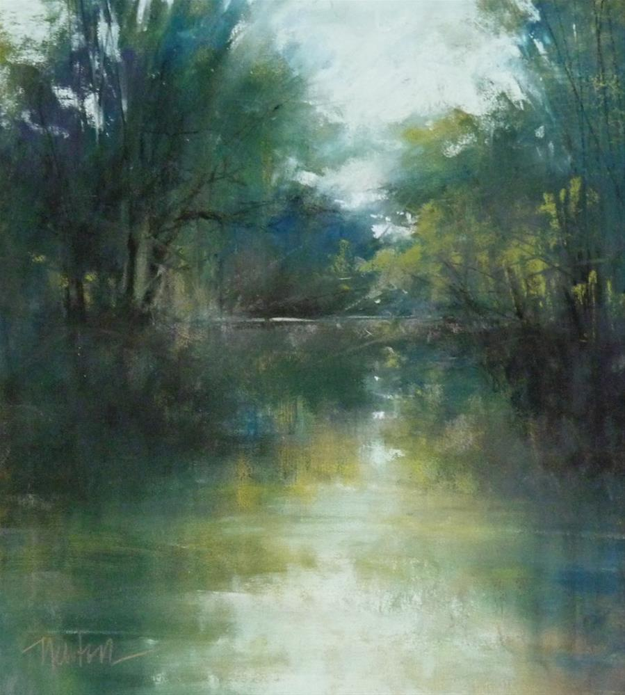 """Lullaby Lake"" original fine art by Barbara Benedetti Newton"
