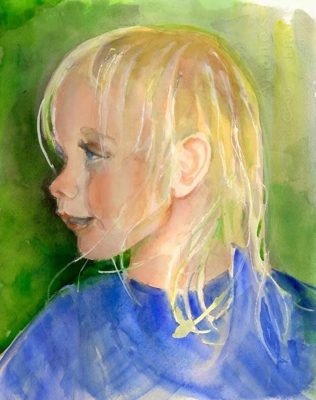 """Irish Wispy"" original fine art by Reveille Kennedy"