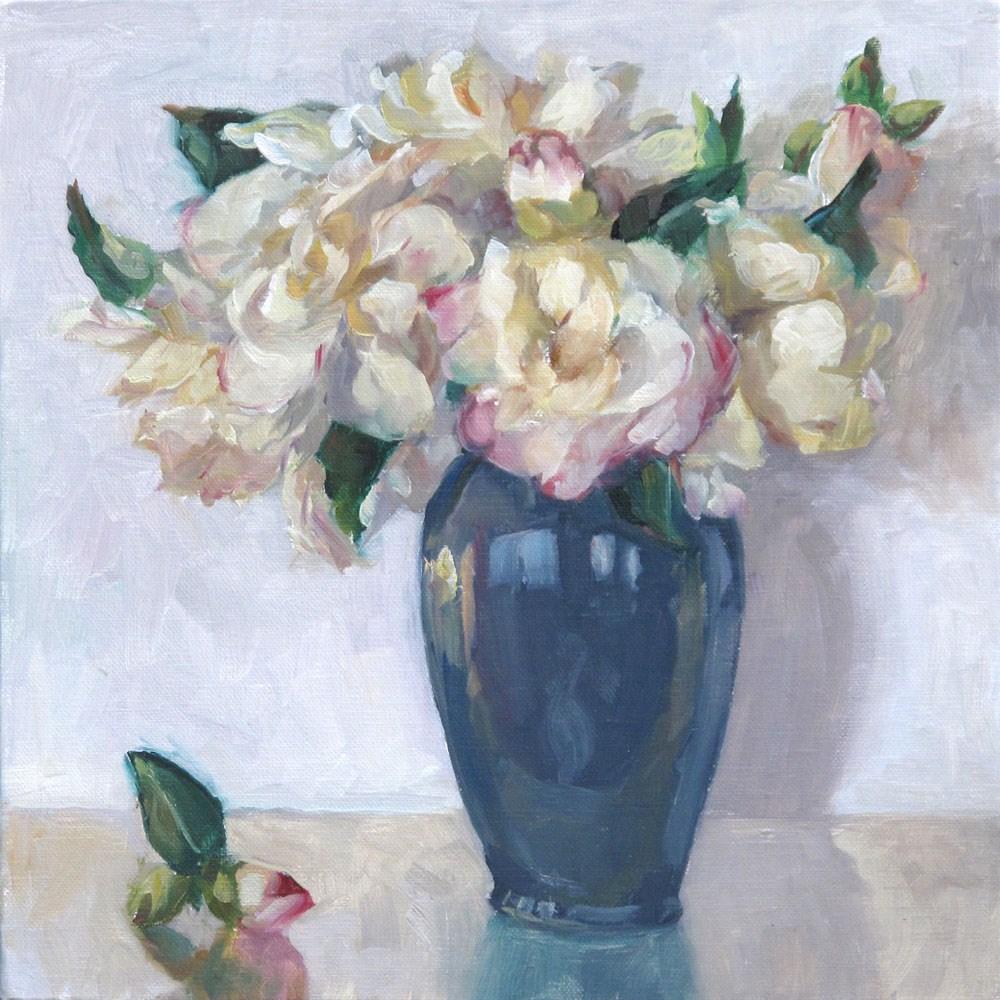 """Camellias"" original fine art by Myriam Kin-Yee"