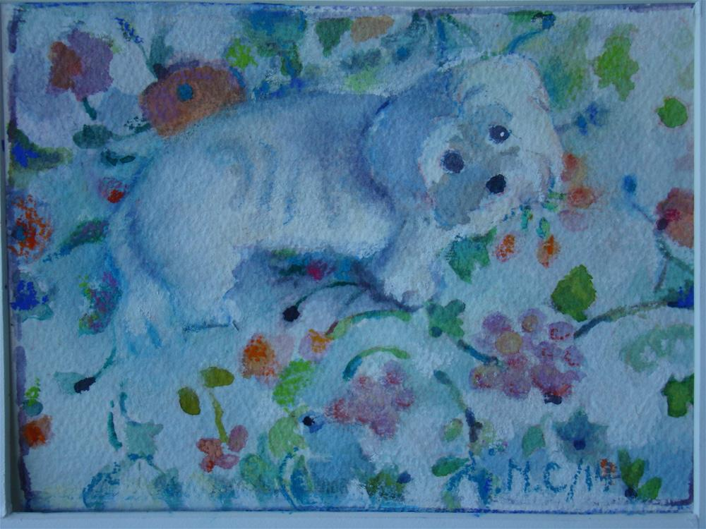 """Zoe"" original fine art by meribeth coyne"
