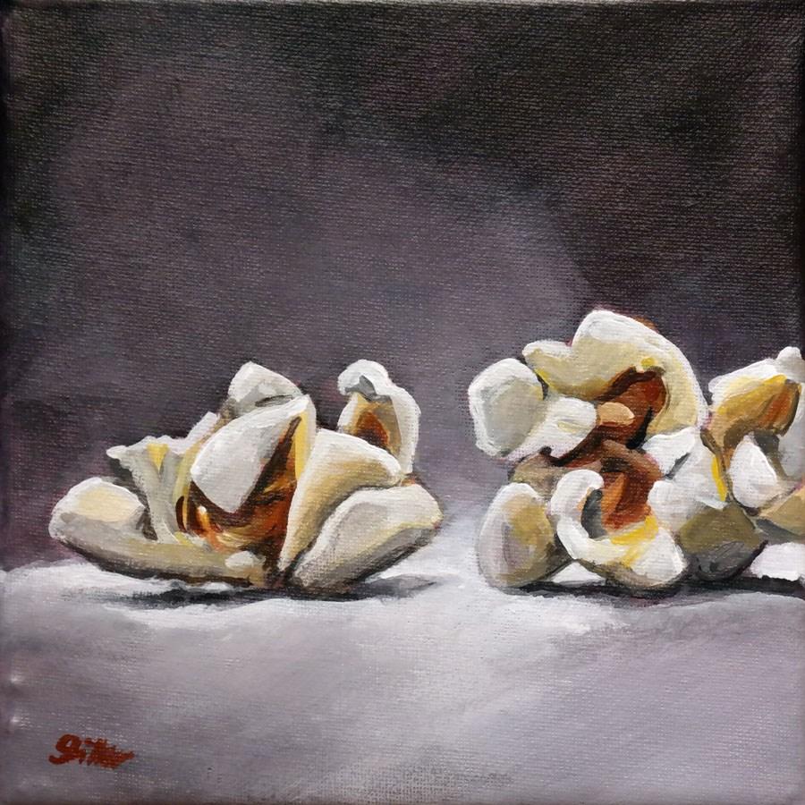 """""""1568 Popcorn Challenge"""" original fine art by Dietmar Stiller"""
