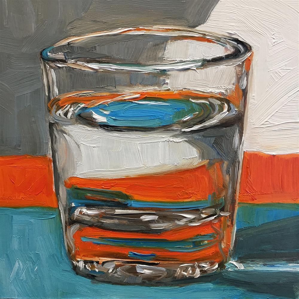"""Water Glass"" original fine art by Austin Maloney"