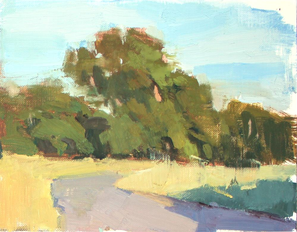 """Trees in Full Sun"" original fine art by Kristian Matthews"