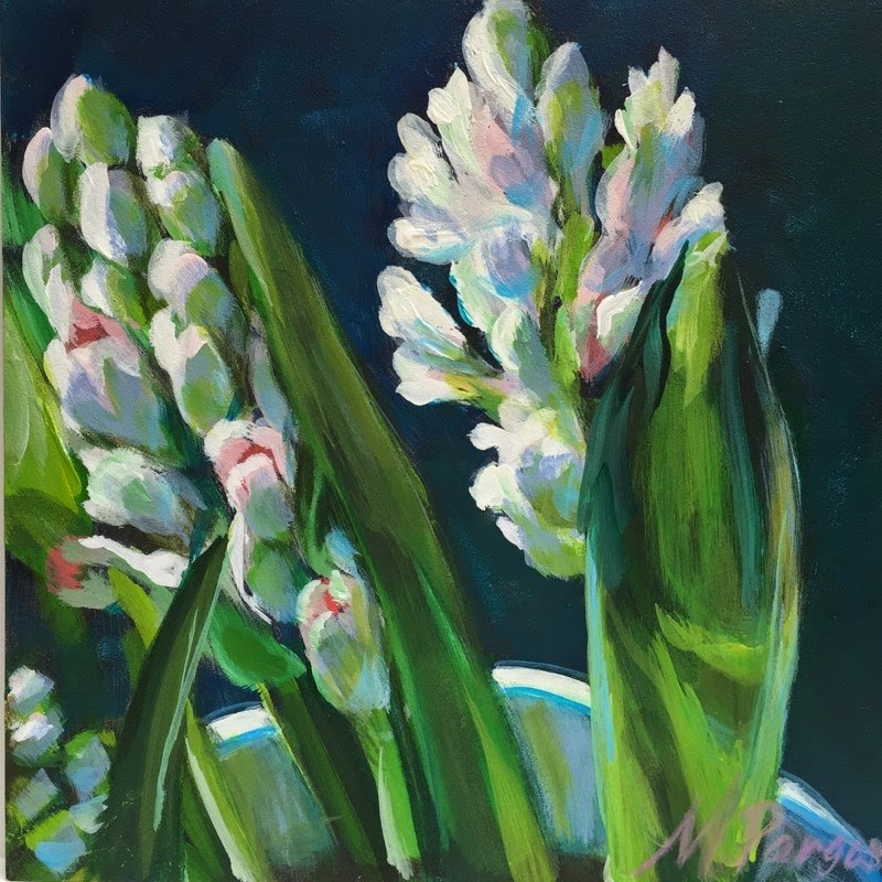 """Reach for the LIght"" original fine art by Mary Pargas"