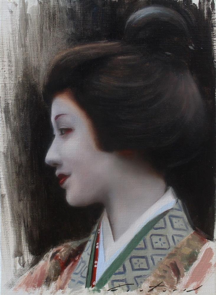 """""""Mamefuji"""" original fine art by Phil Couture"""