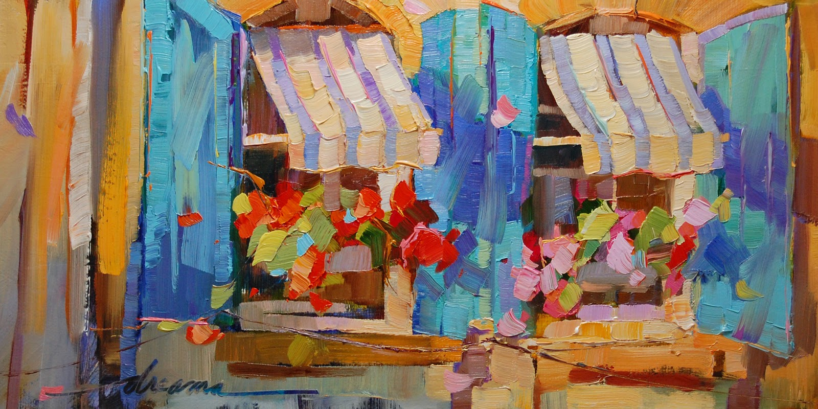 """"""""""" original fine art by Dreama Tolle Perry"""