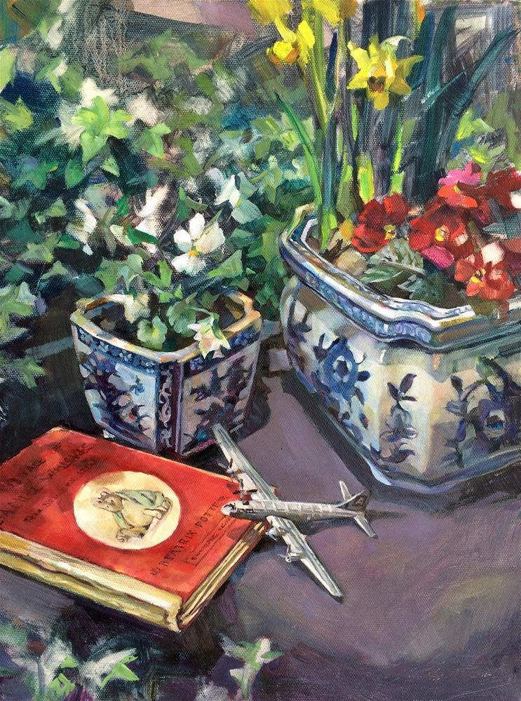 """""""Memories framed"""" original fine art by Nicoletta Baumeister"""