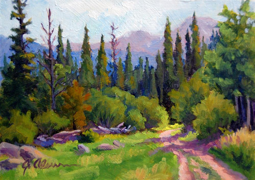 """McGraw Ranch Road"" original fine art by Gary Alsum"