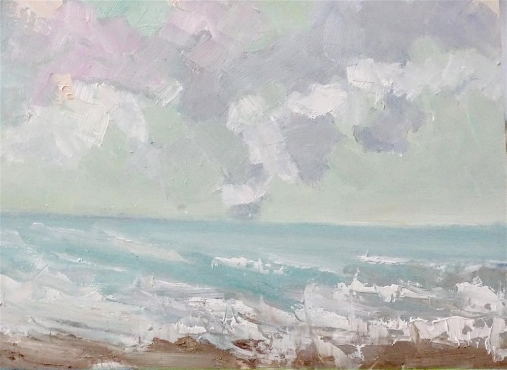 """""""Salty Breeze"""" original fine art by Astrid Buchhammer"""