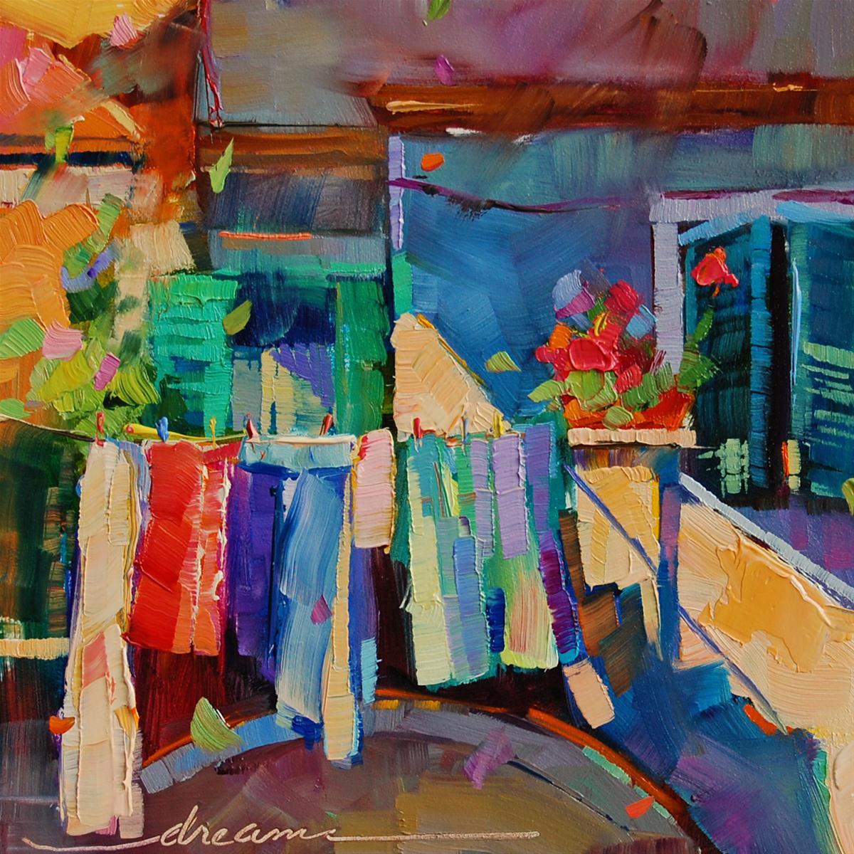 """Beautiful Simplicity"" original fine art by Dreama Tolle Perry"