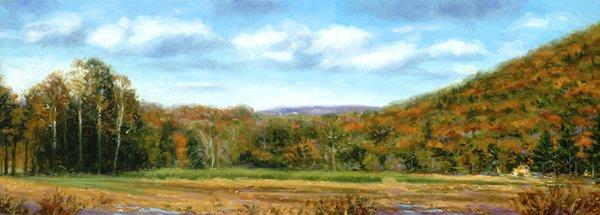 """""""Farmer's Field"""" original fine art by Danny O'Leary"""