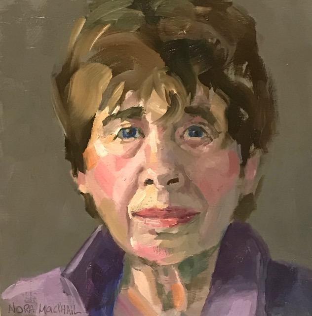 """undefeatable"" original fine art by Nora MacPhail"