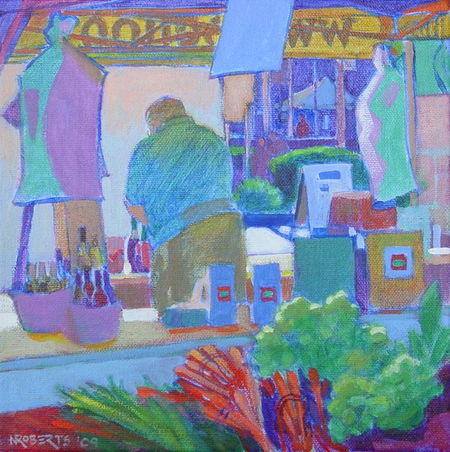 """Bello Olio"" original fine art by Nancy Roberts"