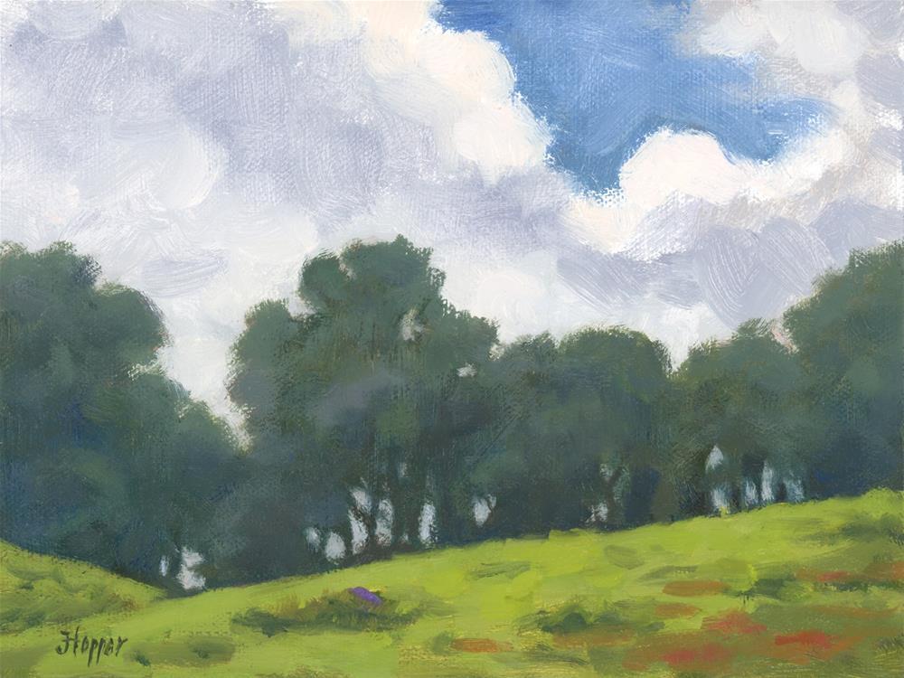 """""""Hanamu Road Treeline"""" original fine art by Joanne Hopper"""