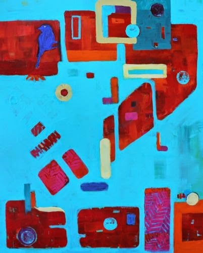 """""""The Letter Z, Contemporary Paintings by Arizona Artist Amy Whitehouse"""" original fine art by Amy Whitehouse"""