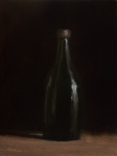 """One Green Bottle"" original fine art by Neil Carroll"
